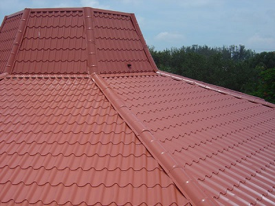 Fancy Roof - Rust Red Translucent Roof Panels Metal Roofing